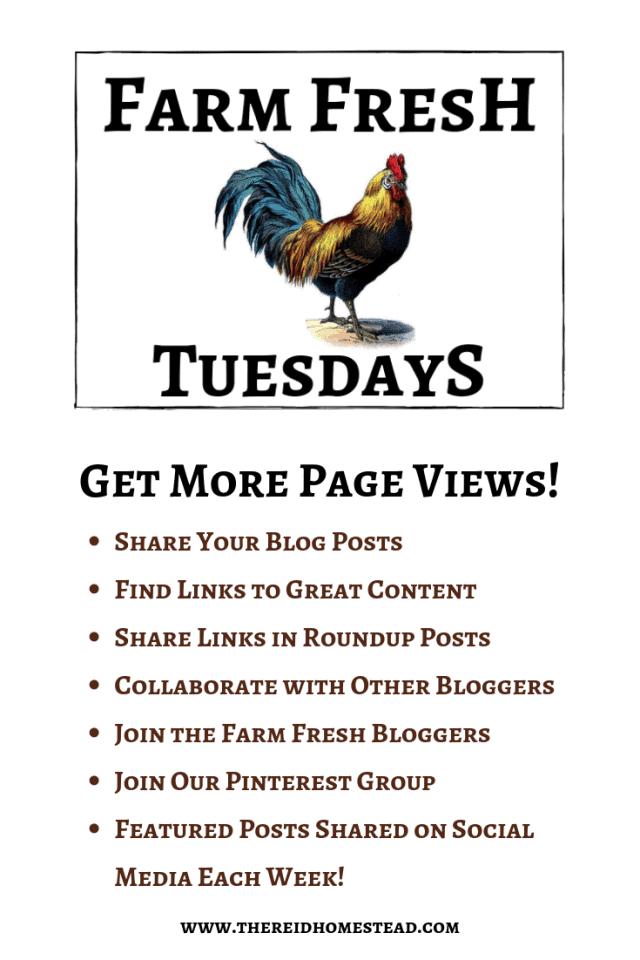 Farm Fresh Tuesdays Blog Hop pinterest pin
