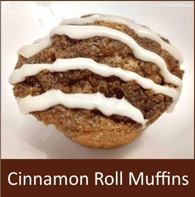 cinnamon roll muffin