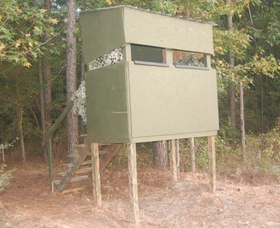 deer blind for hunting