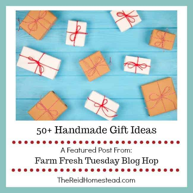 50+ Homemade Gift Ideas