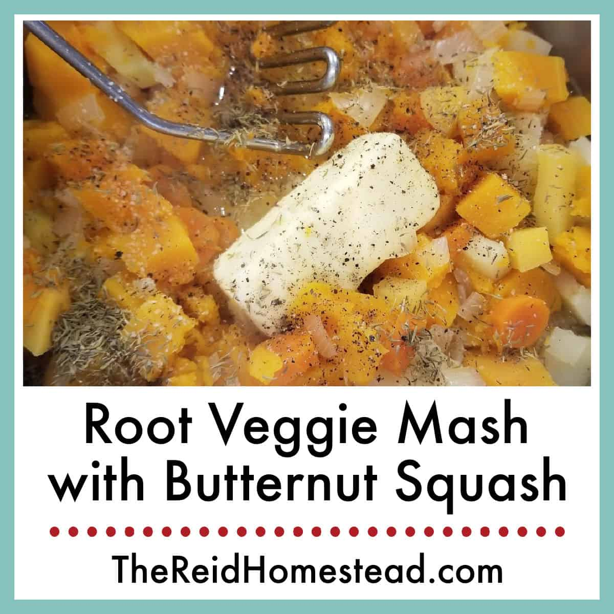 Root Veggie Mash with Butternut Squash Recipe